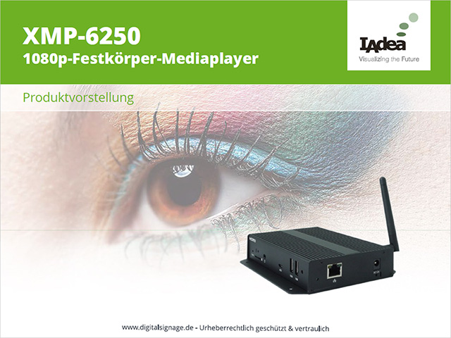 XMP-6250 | Digital Signage Player