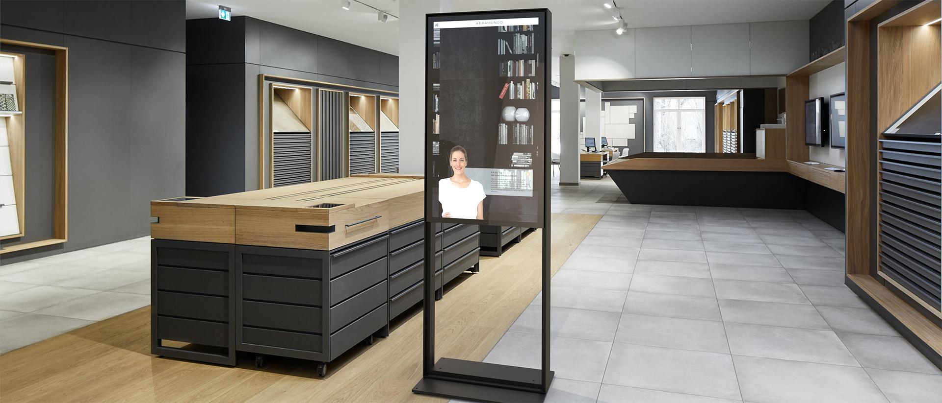 IAdea Deutschland - Stele - Aufmerksamkeit für Ihre Produkte